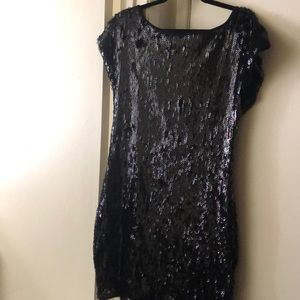 Lovely black sequin dress✨